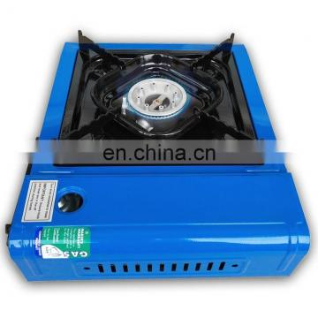 camping portable gas stove part with gas cylinder