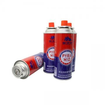 Low pressure empty gas bottle butane gas cartridge