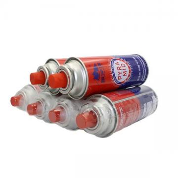 Small portable 220g-250g pure butane gas can for stove with DOT for Germany market good price