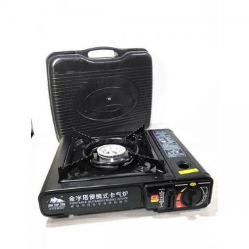 portable mini camping gas stove with BBQ,casette cooker for outdoor picnic or restaurant use