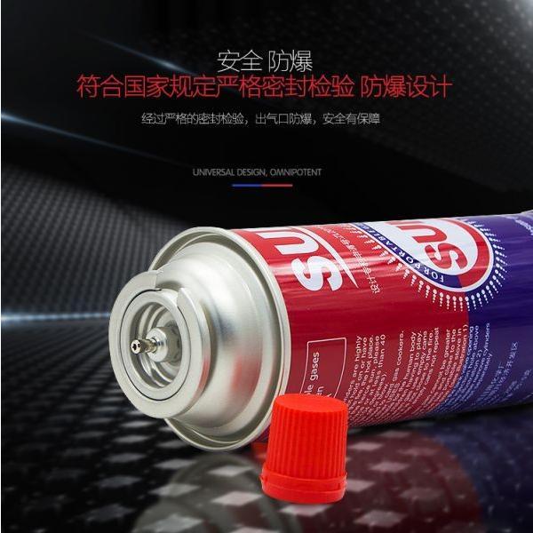 Low pressure empty gas bottle butane gas cartridge #3 image