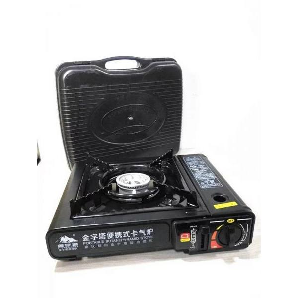 High quality mini one burner single double indoor hiking camping gas stove #1 image